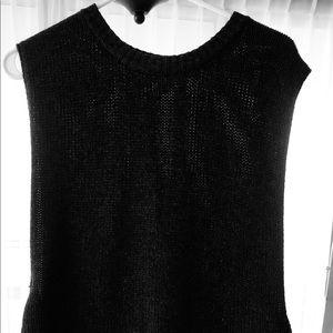 BALDWIN hi-lo open sides sweater